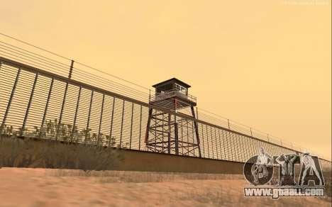 New Military Base v1.0 for GTA San Andreas third screenshot