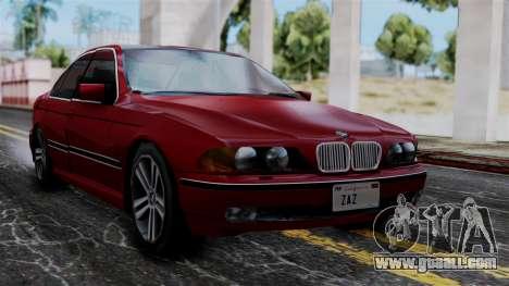 BMW M5 E39 SA Style for GTA San Andreas