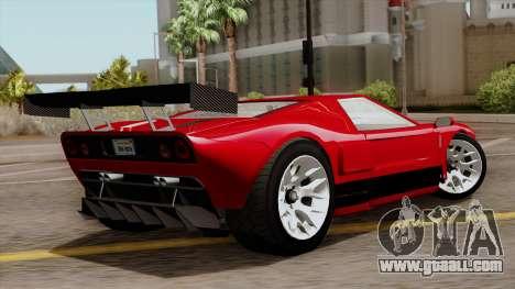 Vapid Bullet GT-GT3 for GTA San Andreas left view