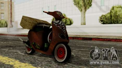 Zip SP Rat Style for GTA San Andreas