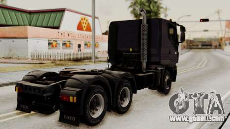 Volvo Truck from ETS 2 for GTA San Andreas left view
