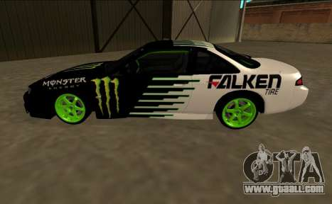 Nissan 200SX Drift Monster Energy Falken for GTA San Andreas left view