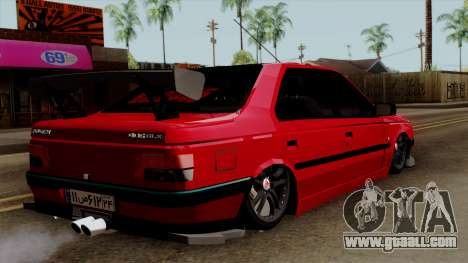 Peugeot 405 Full Sport for GTA San Andreas left view