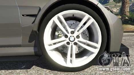 GTA 5 BMW M4 F82 WideBody rear right side view