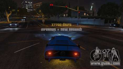 GTA 5 Drift HUD second screenshot