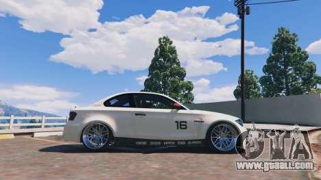 GTA 5 BMW 1M v1.0 left side view
