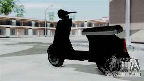 Scooter from Bully for GTA San Andreas left view
