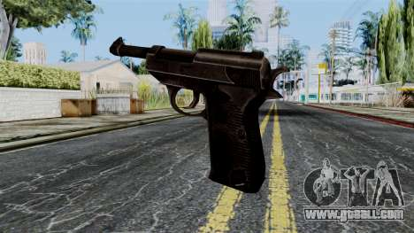 Walther P38 from Battlefield 1942 for GTA San Andreas second screenshot