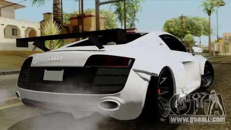 Audi R8 v1.0 Edition Liberty Walk for GTA San Andreas left view