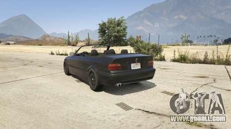 BMW M3 E36 Cabriolet 1997 for GTA 5