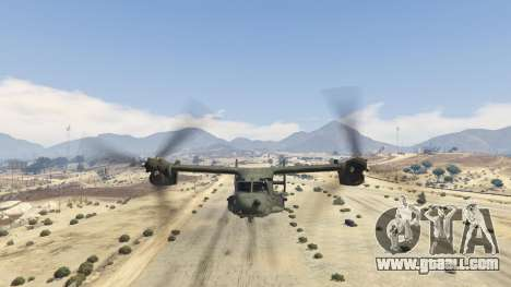GTA 5 CV-22B Osprey (VTOL) sixth screenshot