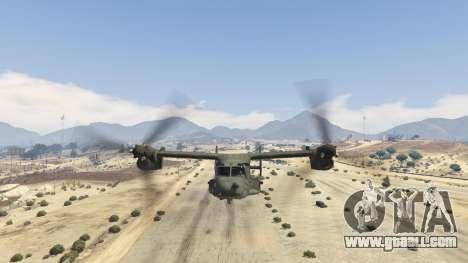 CV-22B Osprey (VTOL) for GTA 5