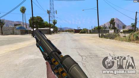 GTA 5 M2014 Gauss Rifle из Crysis 2 third screenshot