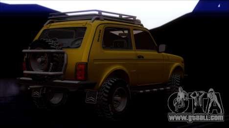 VAZ 2121 Niva Offroad for GTA San Andreas wheels