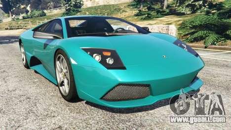 Lamborghini Murcielago LP 640 v0.5 for GTA 5
