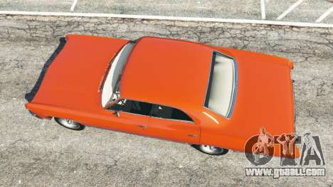 GTA 5 Chevrolet Impala 1967 back view