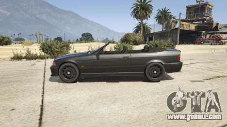 GTA 5 BMW M3 E36 Cabriolet 1997 left side view