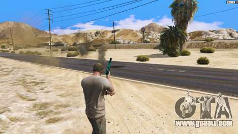 GTA 5 Increased effects of hits third screenshot