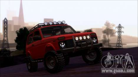 VAZ 2121 Niva Offroad for GTA San Andreas upper view