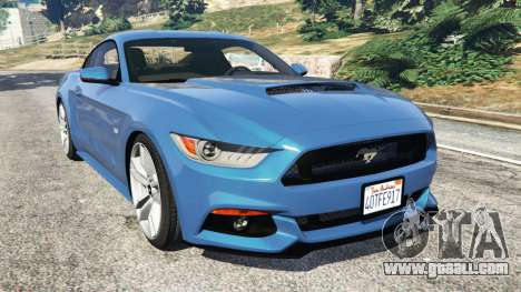 Ford Mustang GT 2015 for GTA 5