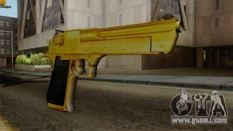 Golden Desert Eagle for GTA San Andreas