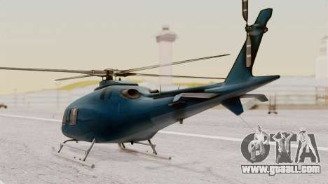 AW-119 Koala for GTA San Andreas left view
