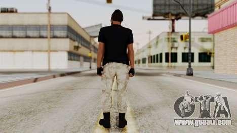Skin DLC Ultimo Equipo En Pie for GTA San Andreas third screenshot