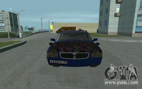 GAZ 3110 Volga for GTA San Andreas right view