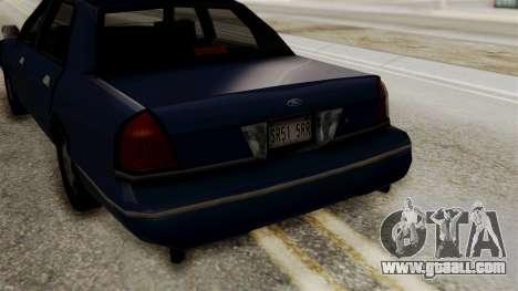 Ford Crown Victoria LP v2 Civil for GTA San Andreas right view