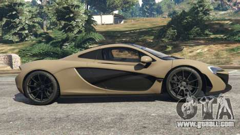 GTA 5 McLaren P1 2014 v1.2 left side view