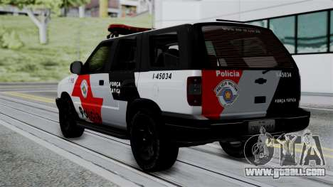 Chevrolet Blazer 2010 for GTA San Andreas left view