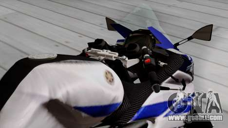 Yamaha YZF R-25 GP Edition 2014 for GTA San Andreas back view