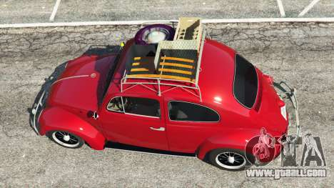 GTA 5 Volkswagen Beetle 1963 [Beta] back view
