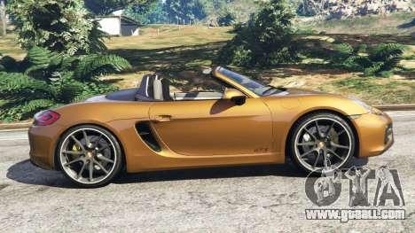 Porsche Boxster GTS for GTA 5