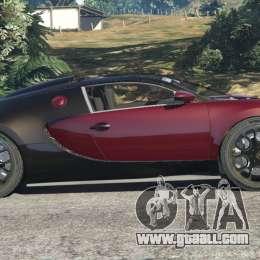 bugatti veyron grand sport v4 1 for gta 5. Black Bedroom Furniture Sets. Home Design Ideas