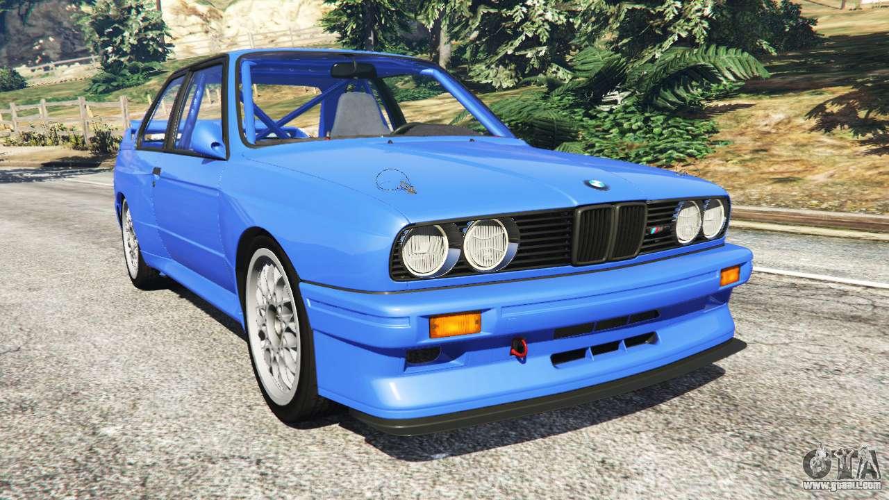BMW M3 (E30) 1991 for GTA 5