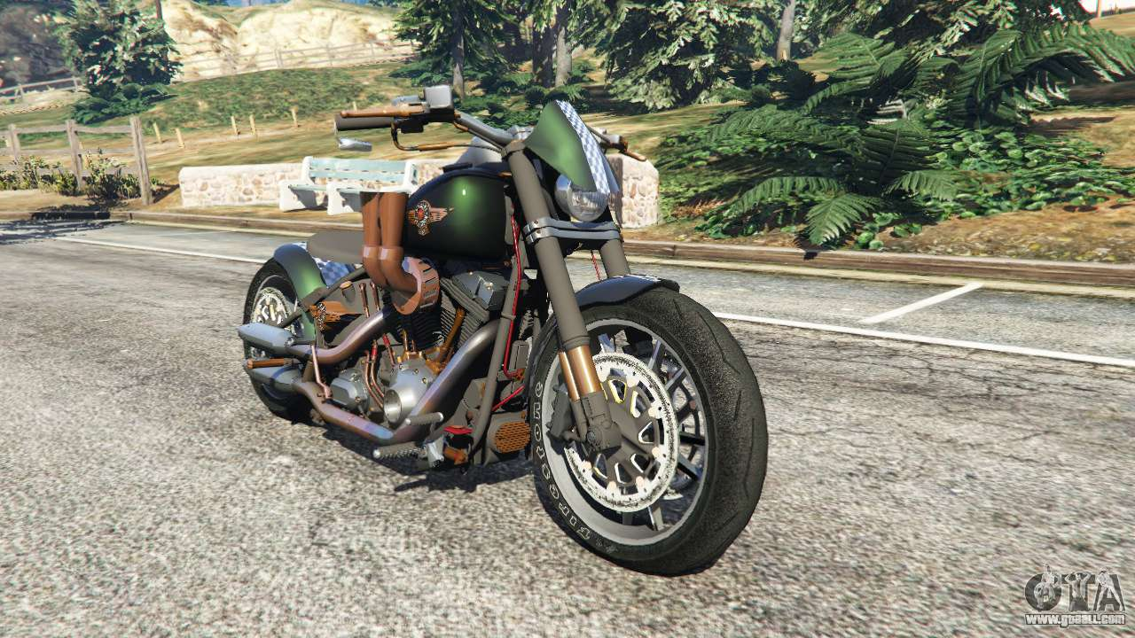 Gta 5 Harley Davidson Motorcycles 2015 Fat Boy Lo Racing Bobber V11