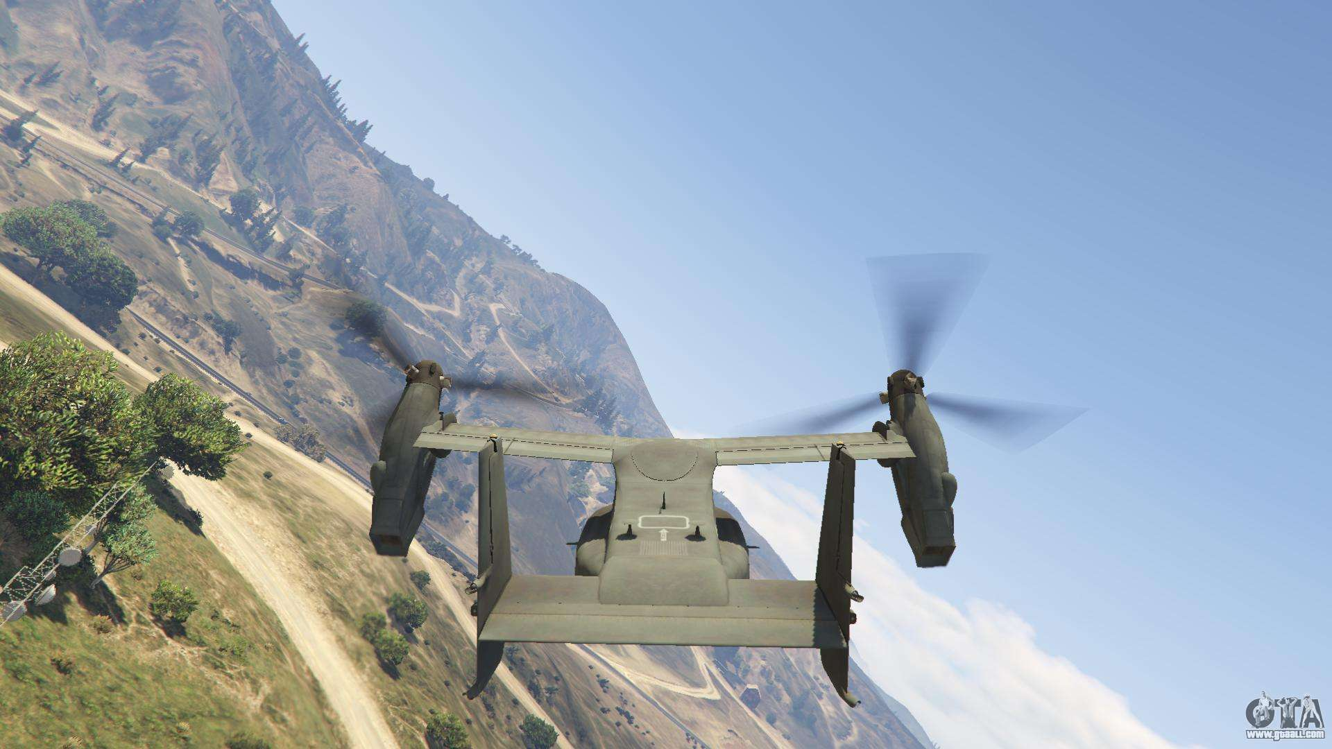 Cv 22b Osprey Vtol For Gta 5