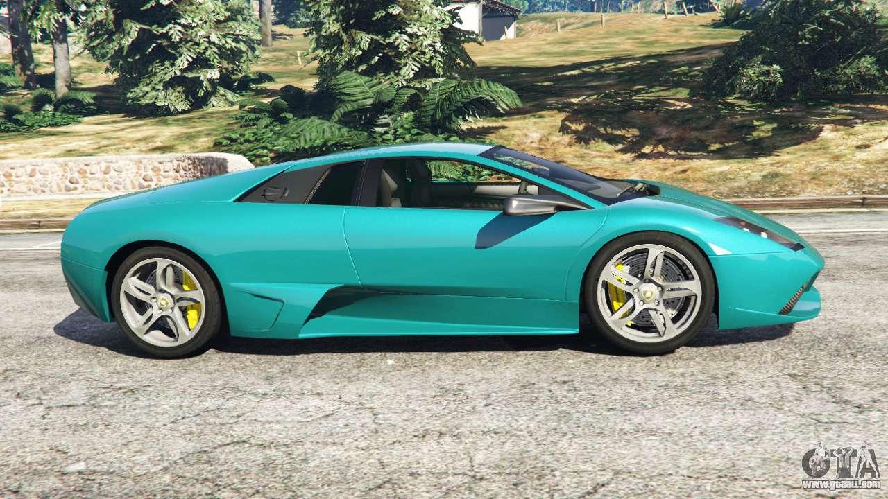 Lamborghini Murcielago Lp 640 V0 5 For Gta 5
