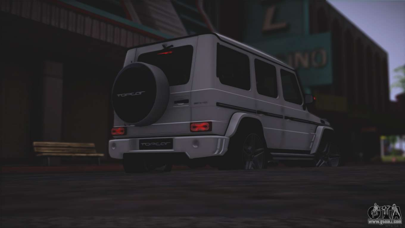 mercedes benz g65 amg 2015 topcar tuning for gta san andreas. Black Bedroom Furniture Sets. Home Design Ideas