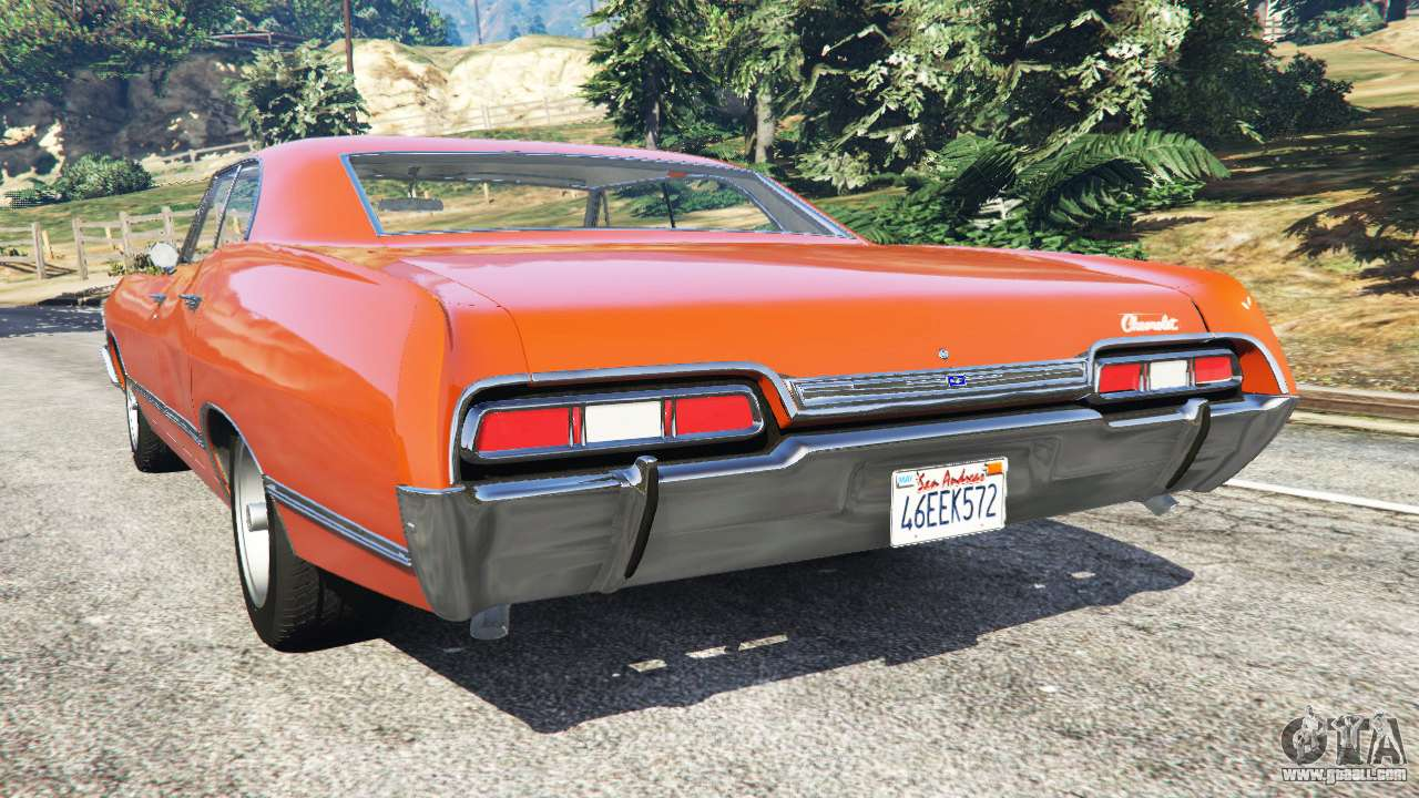 chevrolet impala 1967 for gta 5. Black Bedroom Furniture Sets. Home Design Ideas