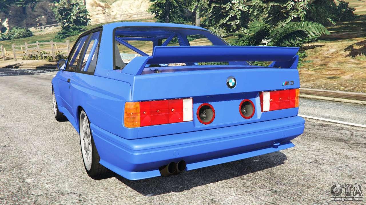 BMW M3 E30 1991 For GTA 5