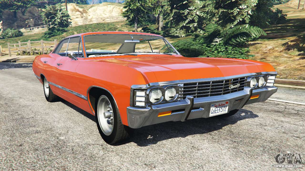 chevrolet impala 1967 for gta 5. Black Bedroom Furniture Sets. Home Design Ideas