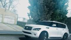 Infiniti QX56 Final for GTA San Andreas