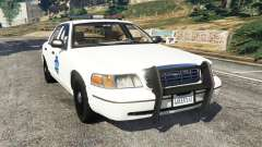 Ford Crown Victoria 1999 Police v0.9 for GTA 5