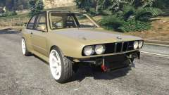 BMW M3 (E30) 1991 Drift Edition v1.0 for GTA 5