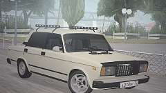 VAZ 2107 sedan for GTA San Andreas