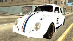 Volkswagen Beetle Herbie Fully Loaded for GTA San Andreas