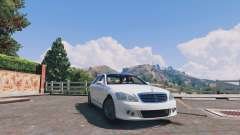 Mercedes-Benz S-Class W221 v0.5.3 for GTA 5