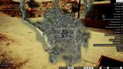 Satellite map 4K for GTA 5